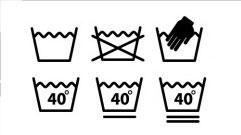 水洗符號wash