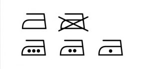 熨斗符號iron